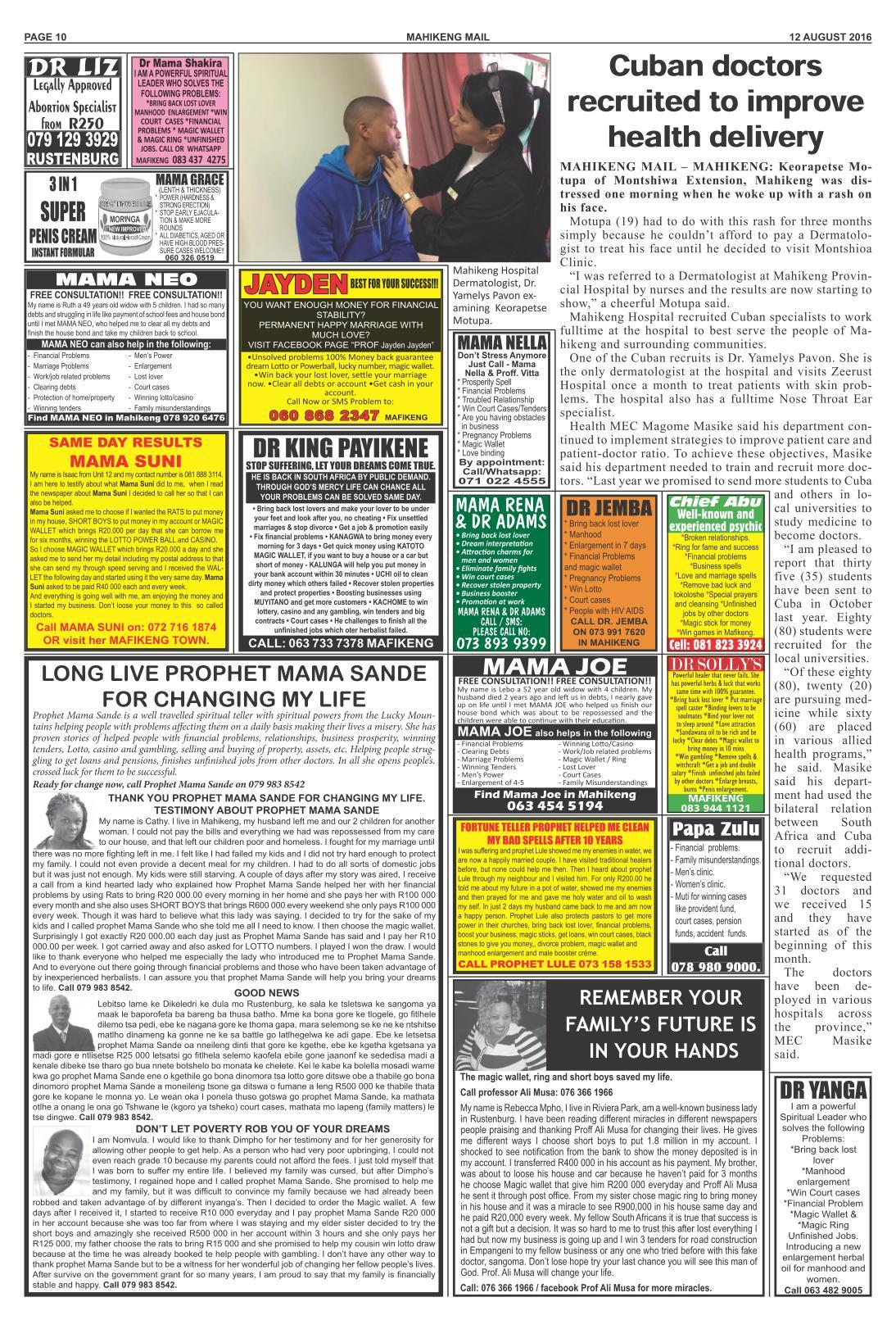 www.salocalnewspapers.co.za - /newspapers/mafikengmail ...